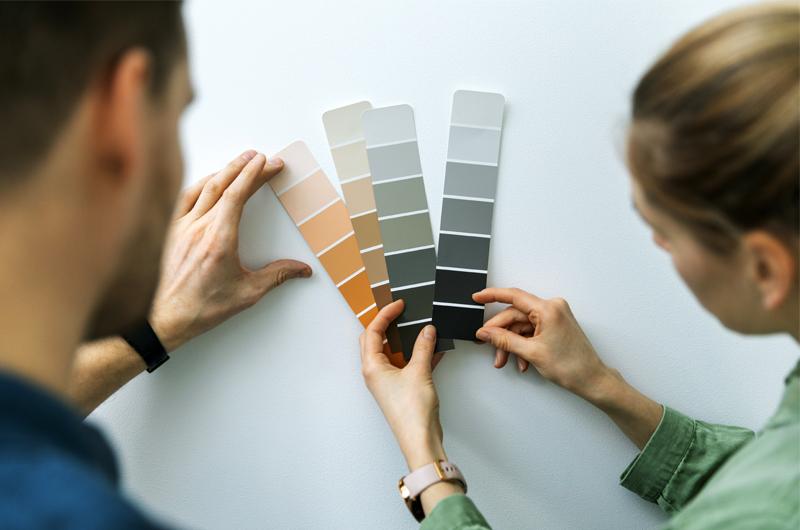 Interieur kleuren