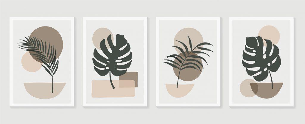 Botanische Schilderijen - Botanisch Interieur - Botanische Woonstijl